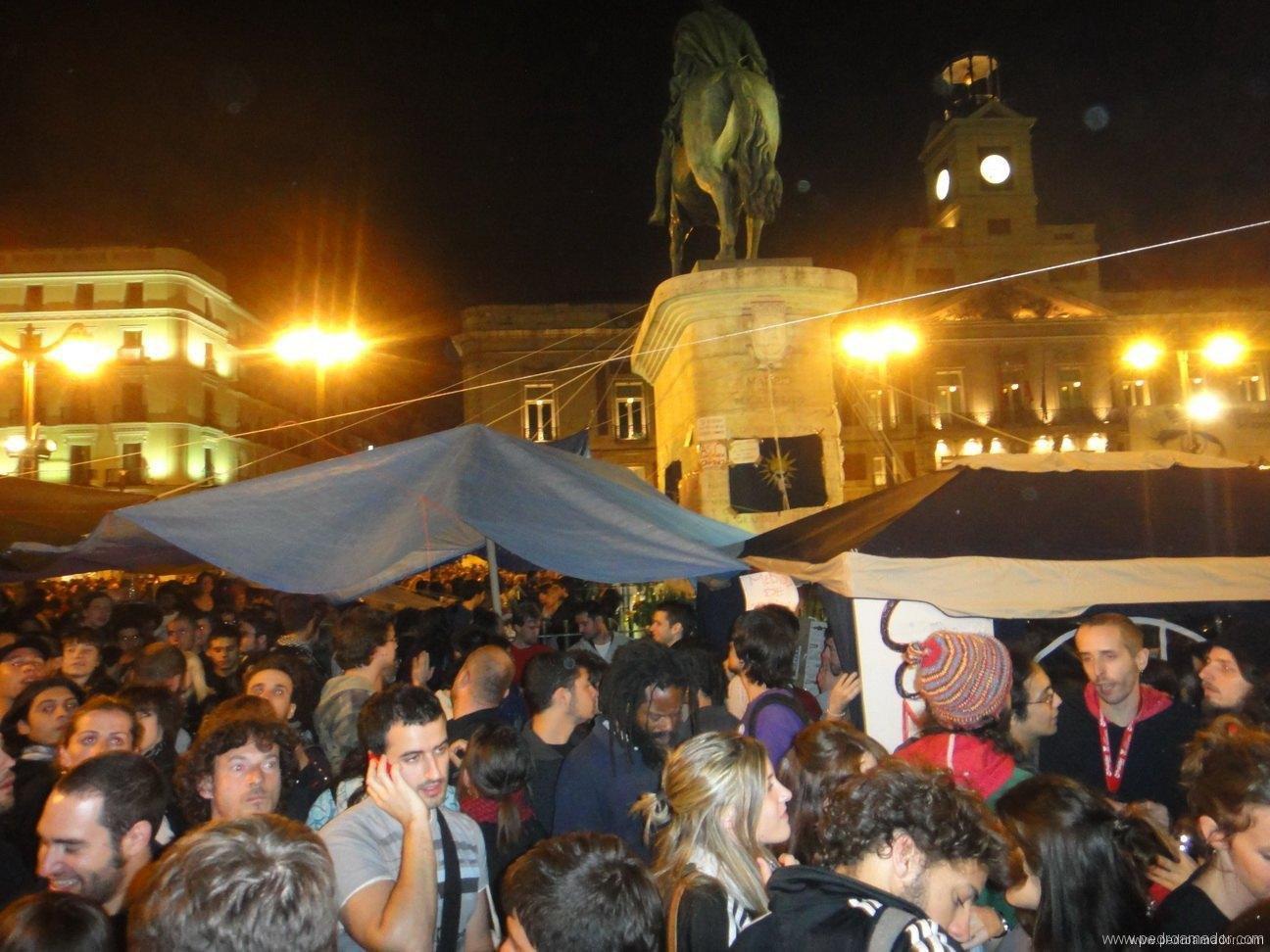 Foto de manifestacion en Madrid