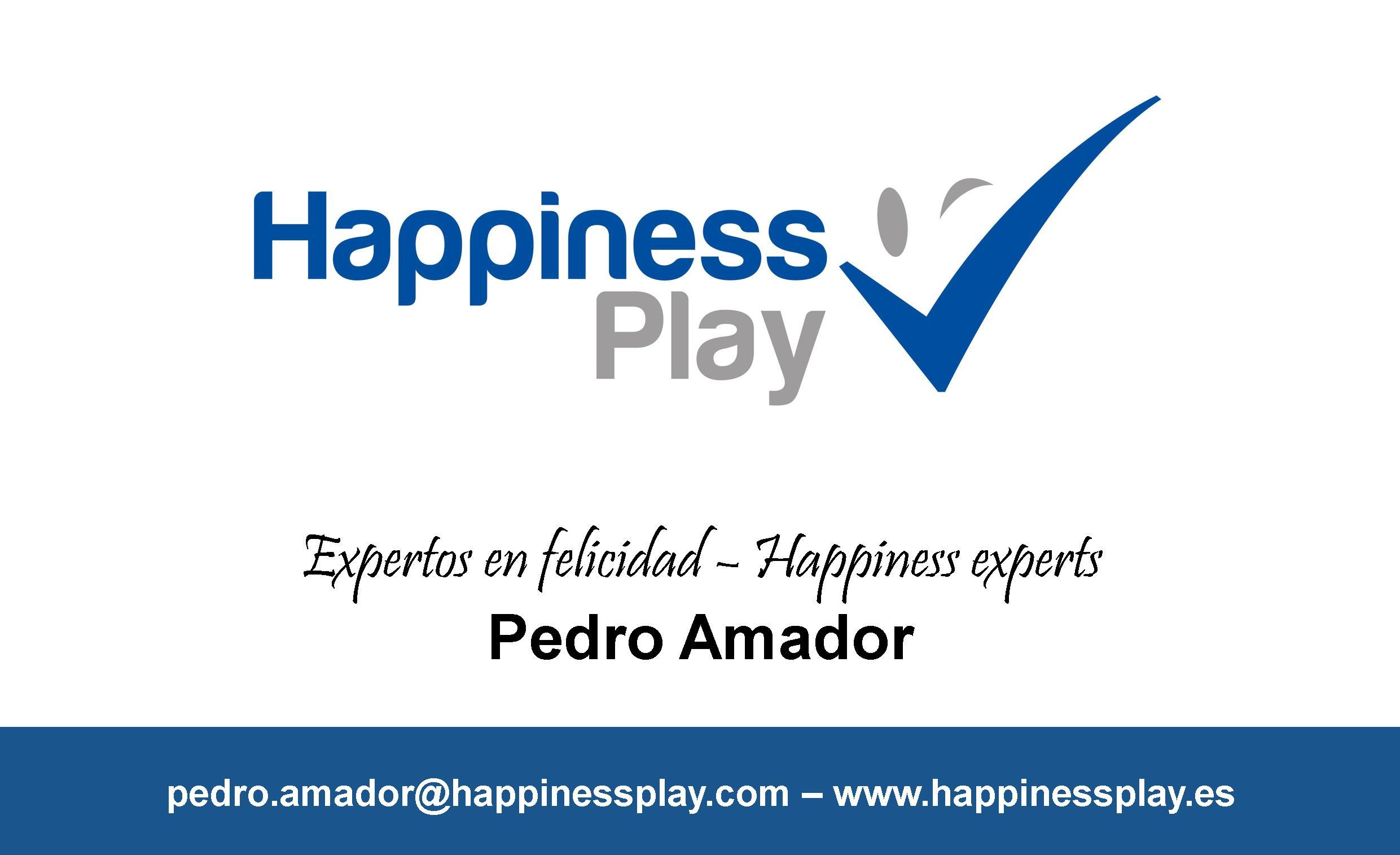 tarjeta pedro amador experto felicidad