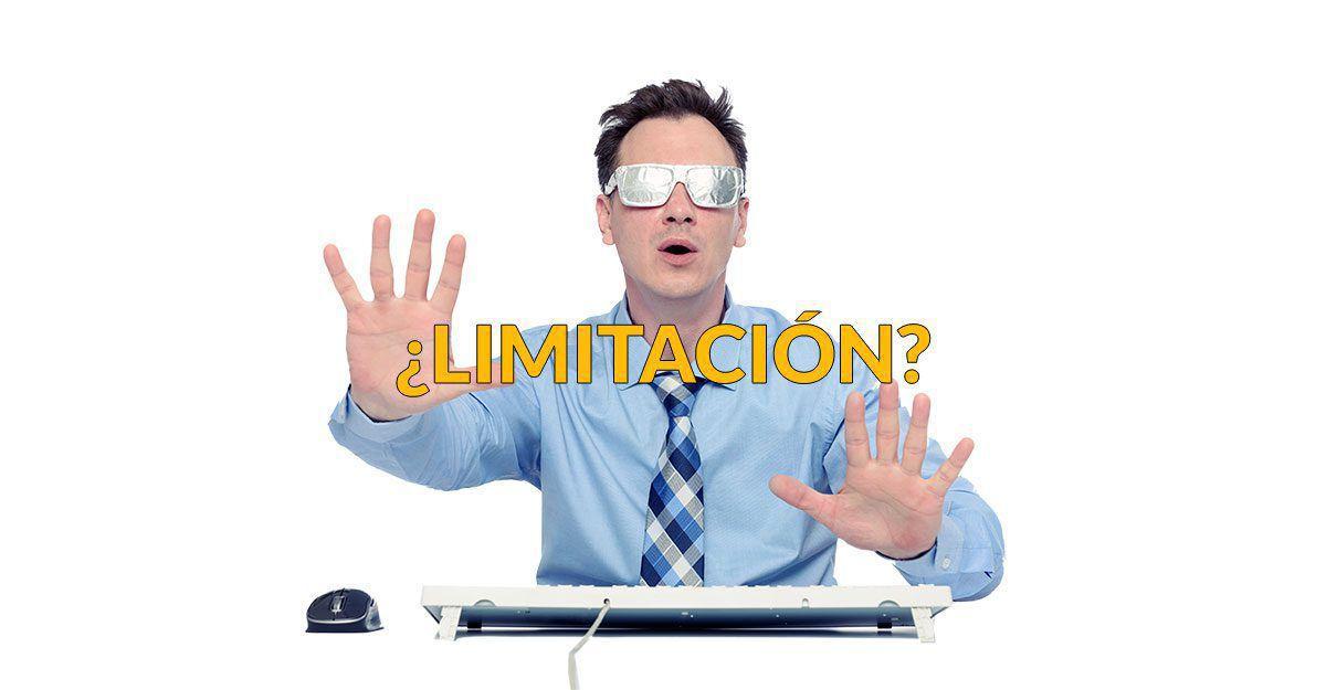 Limitaciones de la estadistica