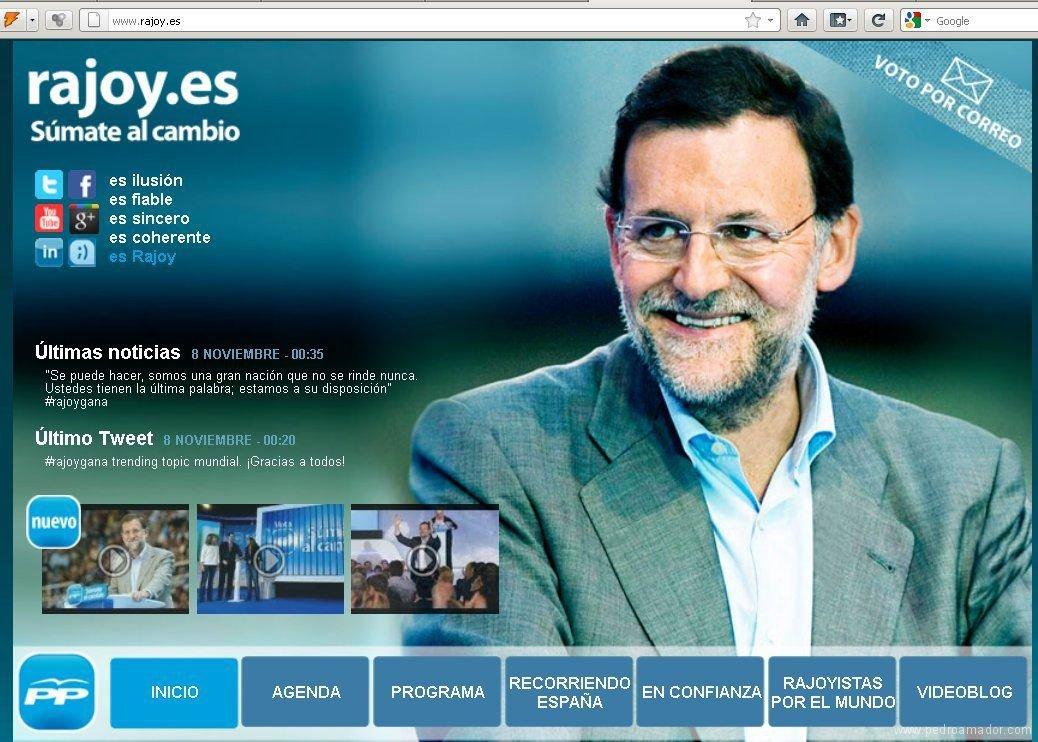 Rajoy Twitter