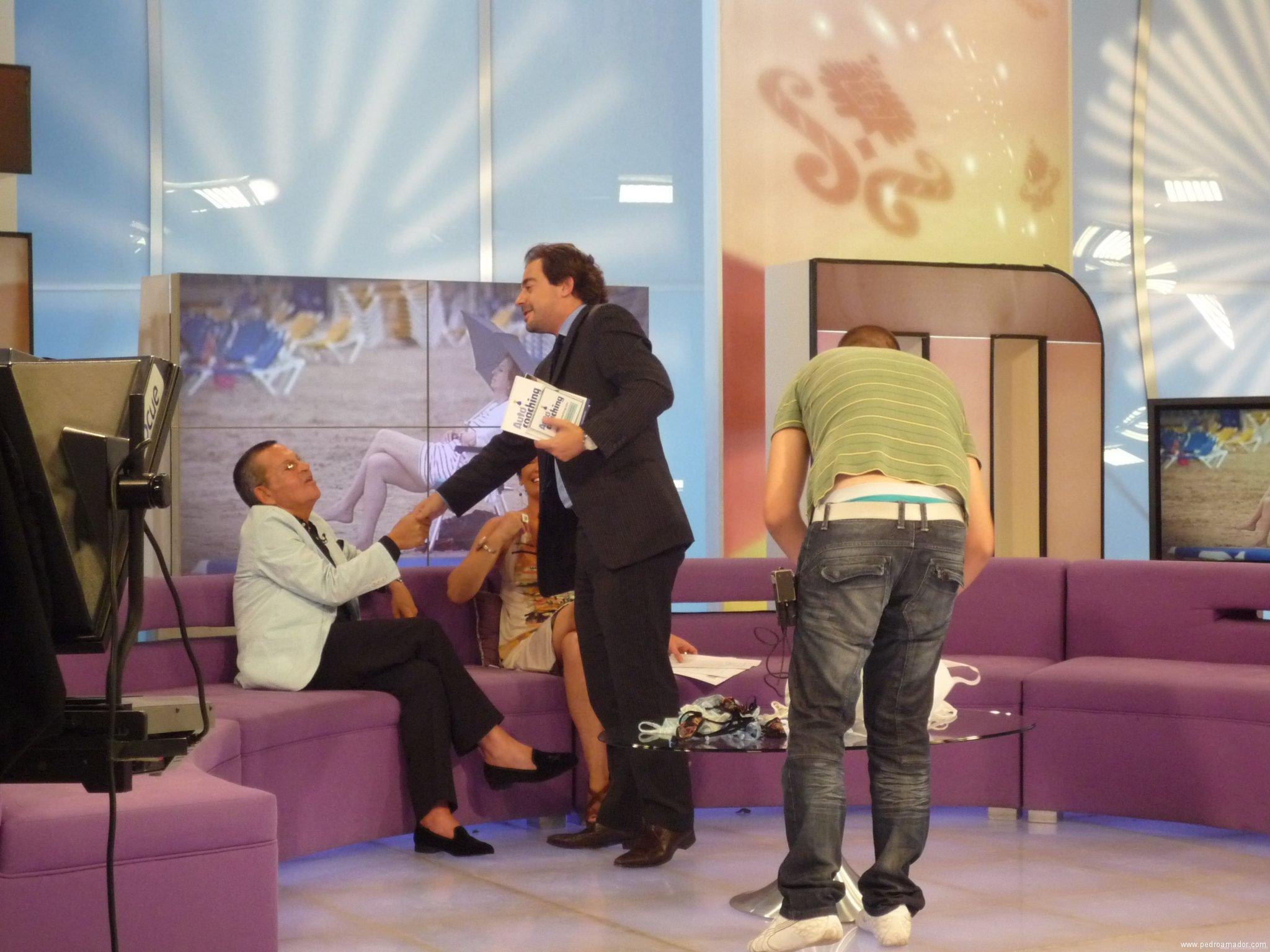 Entrevista en Aragon TV con Josemi