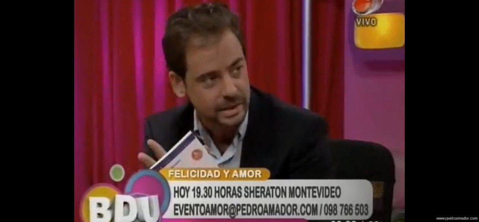 Entrevista en Buen Día Uruguay sobre la felicidad y amor