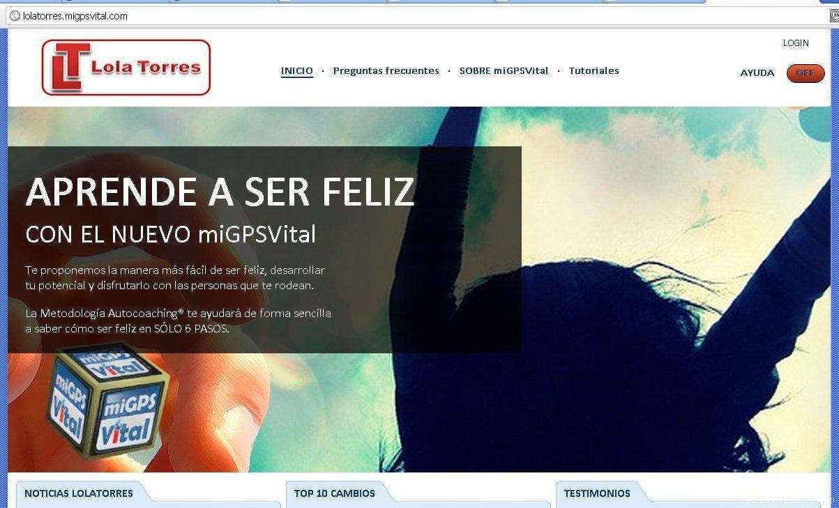 LolaTorres - Un ejemplo de aplicación Happiness Play
