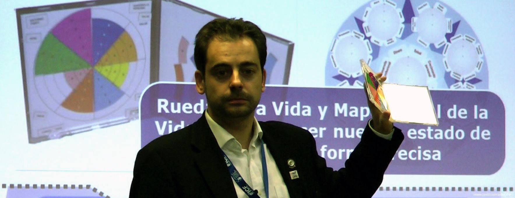 PEDRO AMADOR presentando en ICF