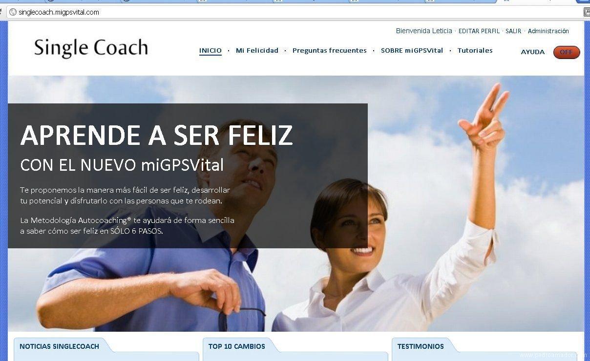 singlecoach un ejemplo de aplicacion - Por fin una herramienta que ayuda a conseguir clientes