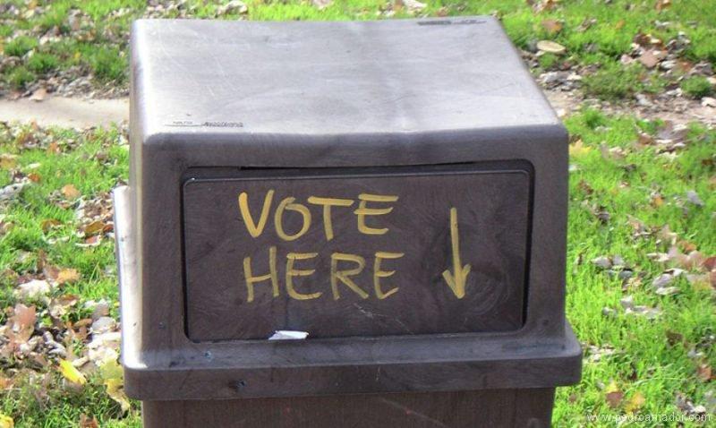 su voto puede ser complice