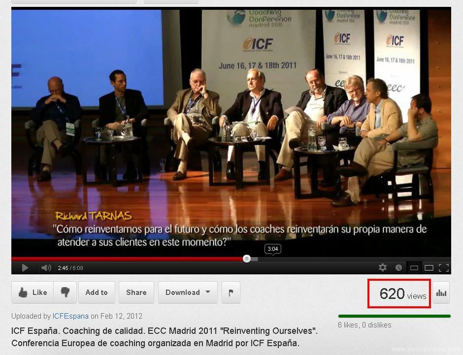 Congreso Europeo de Coaching - ICF España - Pedro Amador