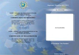 registro OAMI - Marca Autocoaching