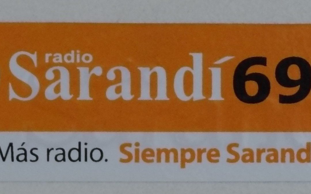 Entrevista en Radio Sarandi hablando del coaching, la felicidad y Uruguay