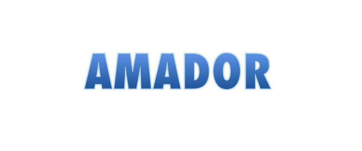 Amador, mi apellido