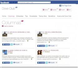 Columna DoveClub