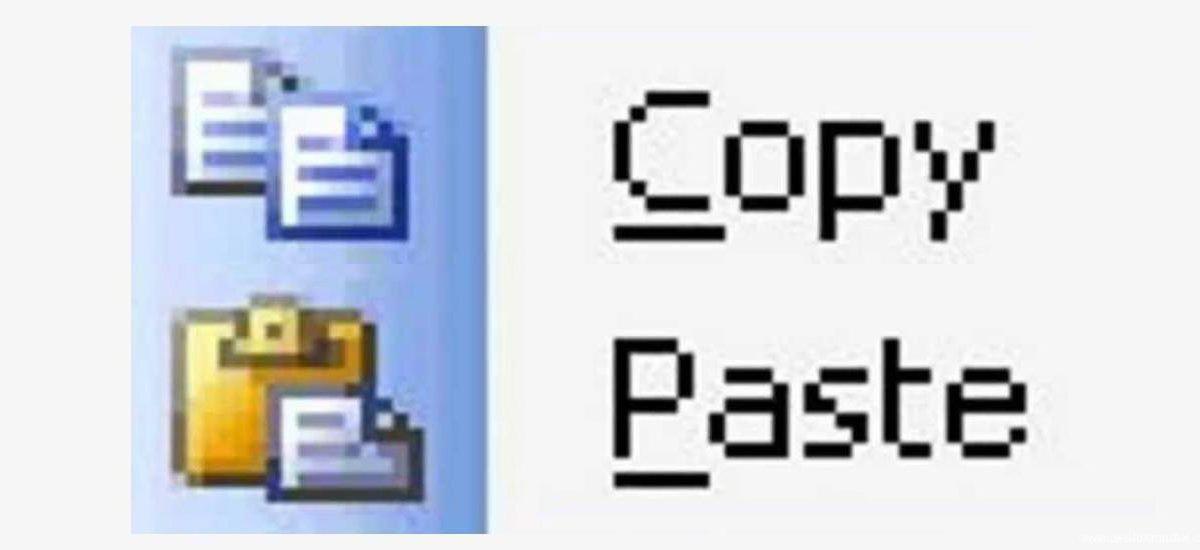 La tontería de copiar y pegar