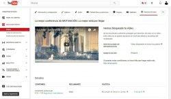 Limitación de derechos de autor YouTube