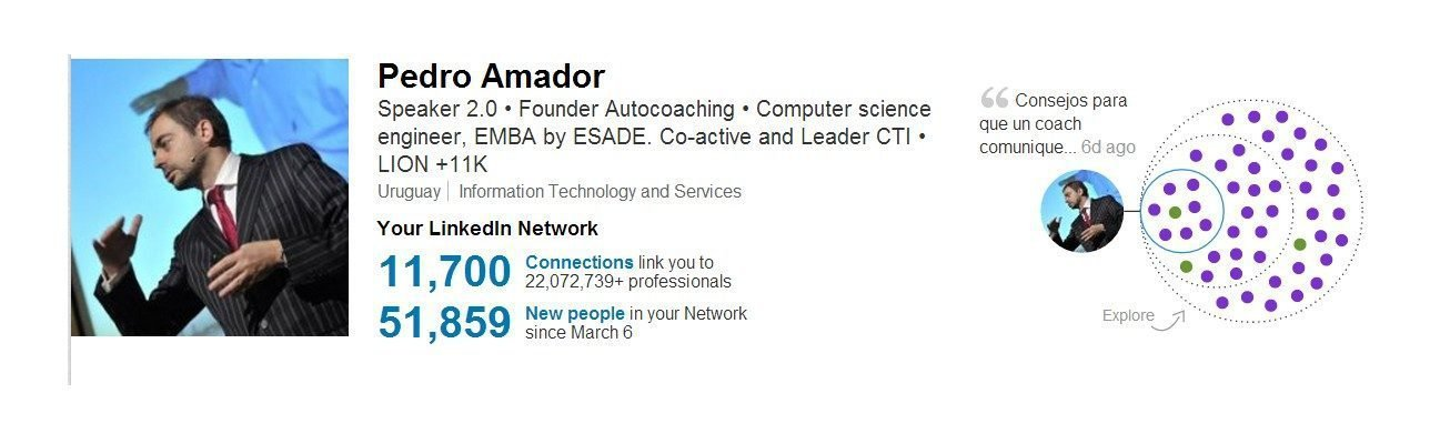 Linkedin is the best! Contacta con un LION