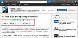 Linkedin mejor artículo