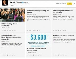 Obama en Linkedin