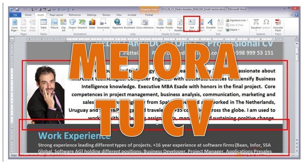 Cómo hacer un currículum moderno para una sociedad web (incluye plantilla)