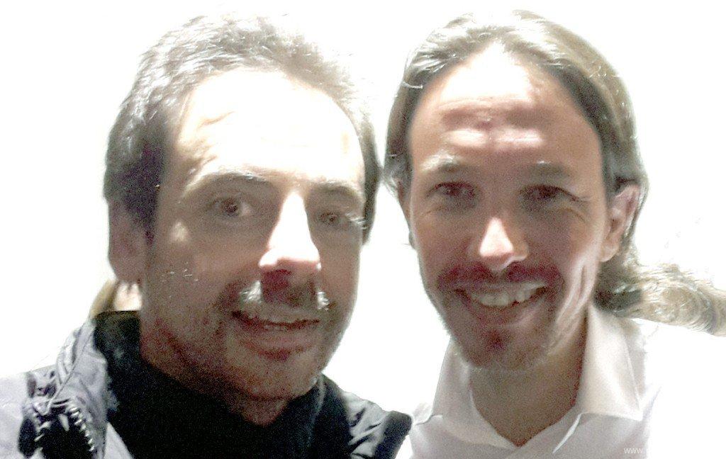 Pablo Iglesias visita Uruguay