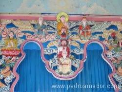 VIETNAM Ho Chi Minh Templo Cao Dai