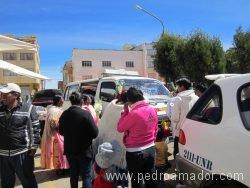BOLIVIA Bautizo de auto