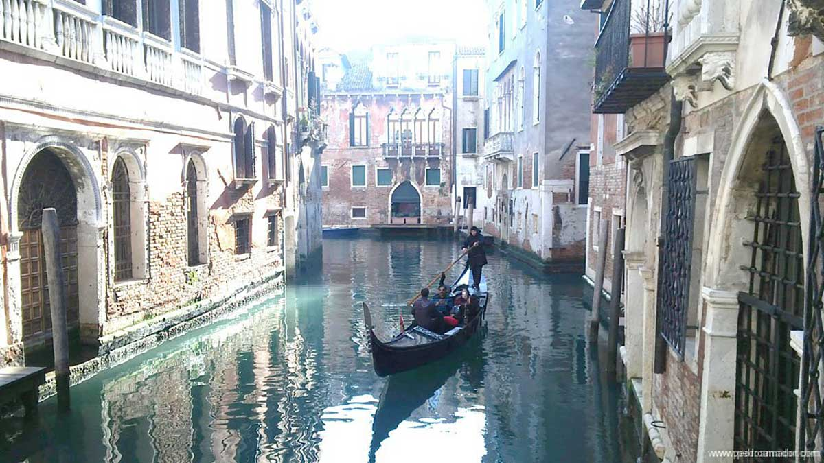Una selfie en Venecia para comenzar el Carnaval - Qué hacer en Venecia ⛲