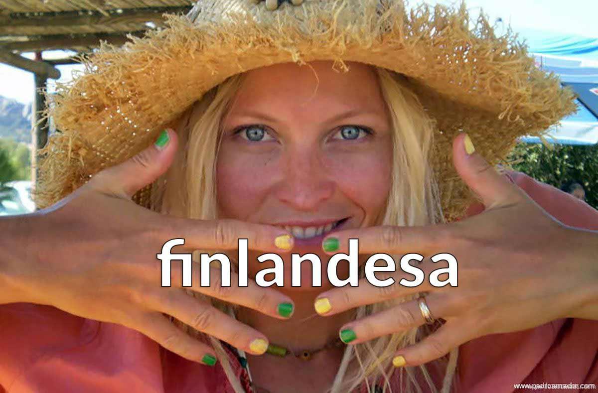 Un ejemplo de carta en el amor de una guapa finlandesa