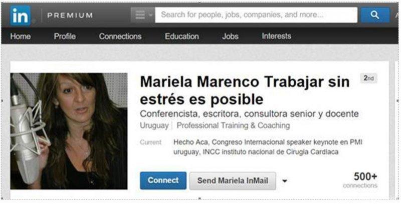 Licenciada Mariela Marenco Uruguay Trucha en Linkedin