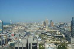 Vista de Dubai desde un hotel