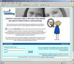Web Autocoaching 2007 - la mejor web para iniciarse en el coaching