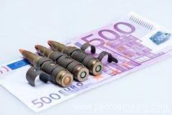 Dinero para la guerra - Unas preguntas para reflexionar - blog personal Pedro Amador con las mejores reflexiones y consejos saludables de vida