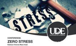 Conferencia Zero Stress Pedro Amador Portada