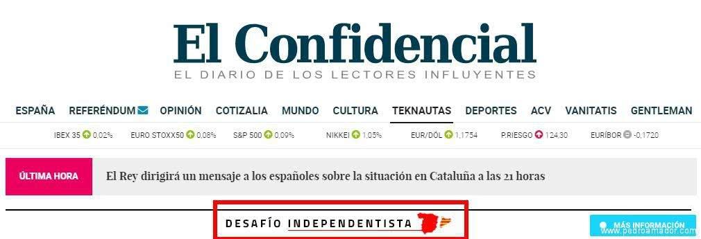 El Confidencial Desafío - ¿Referendum o un Desafío a la Ley en Cataluña?