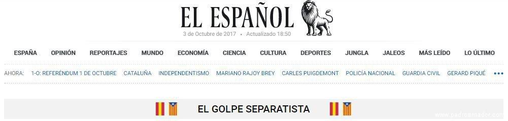 El Español Golpe Separatista - ¿Referendum o un Desafío a la Ley en Cataluña?