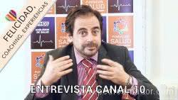 Entrevista en Canal 10 con el Experto en Felicidad Pedro Amador por Ana María Rodruíguez Cravea Uruguay