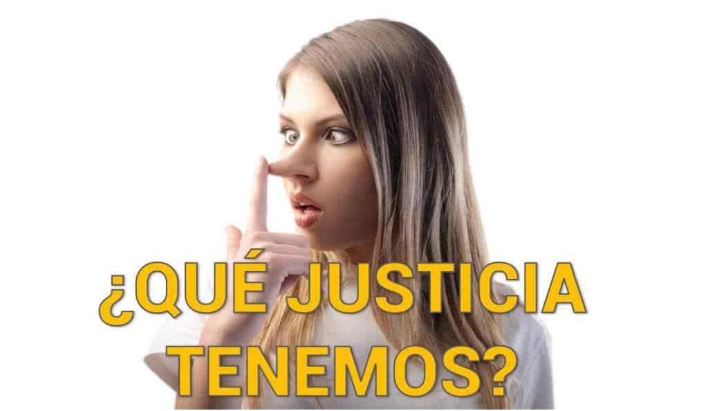 La justicia no existe