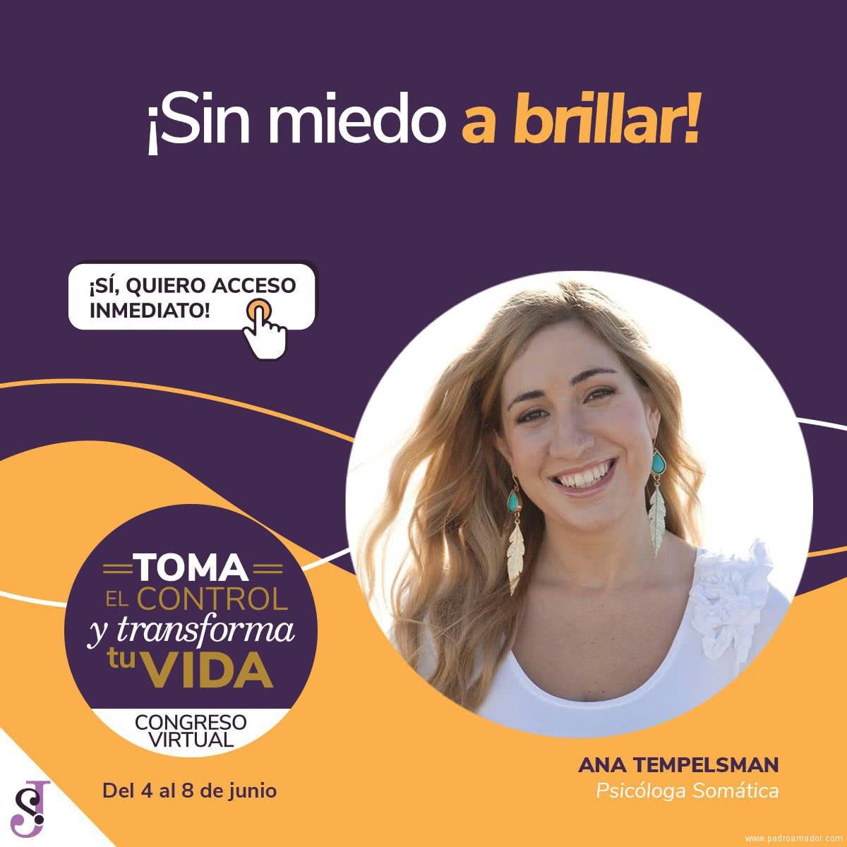 Transforma tu vida - Ana Tempelsman