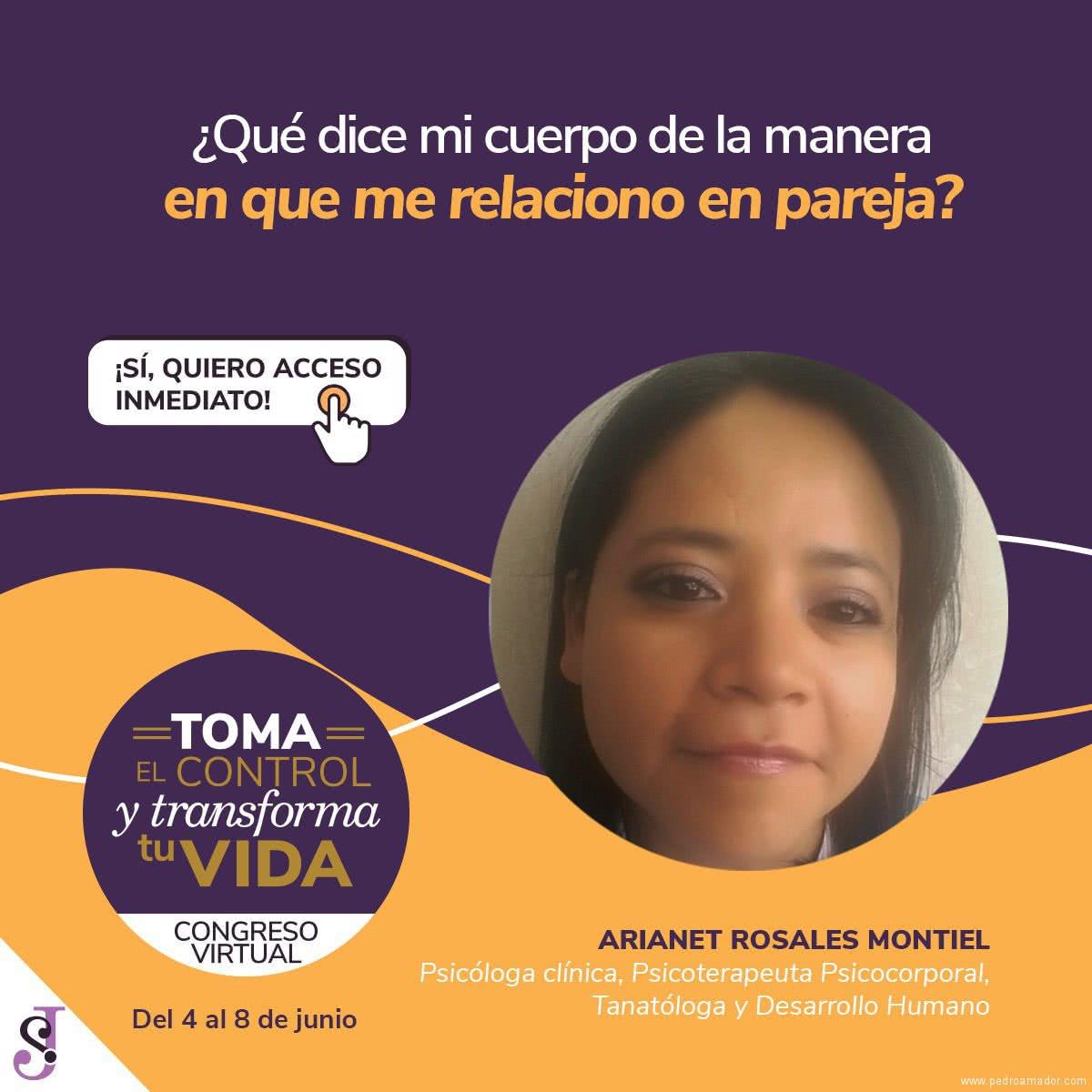 Transforma tu vida - Ariet Rosales Montiel