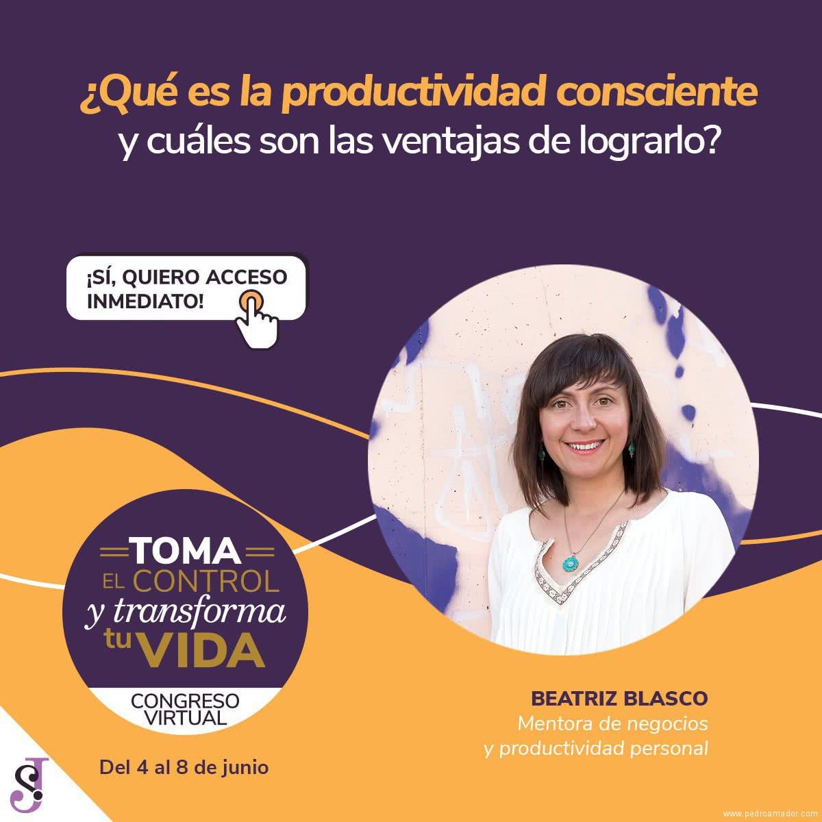 Transforma tu vida - Beatriz Blasco