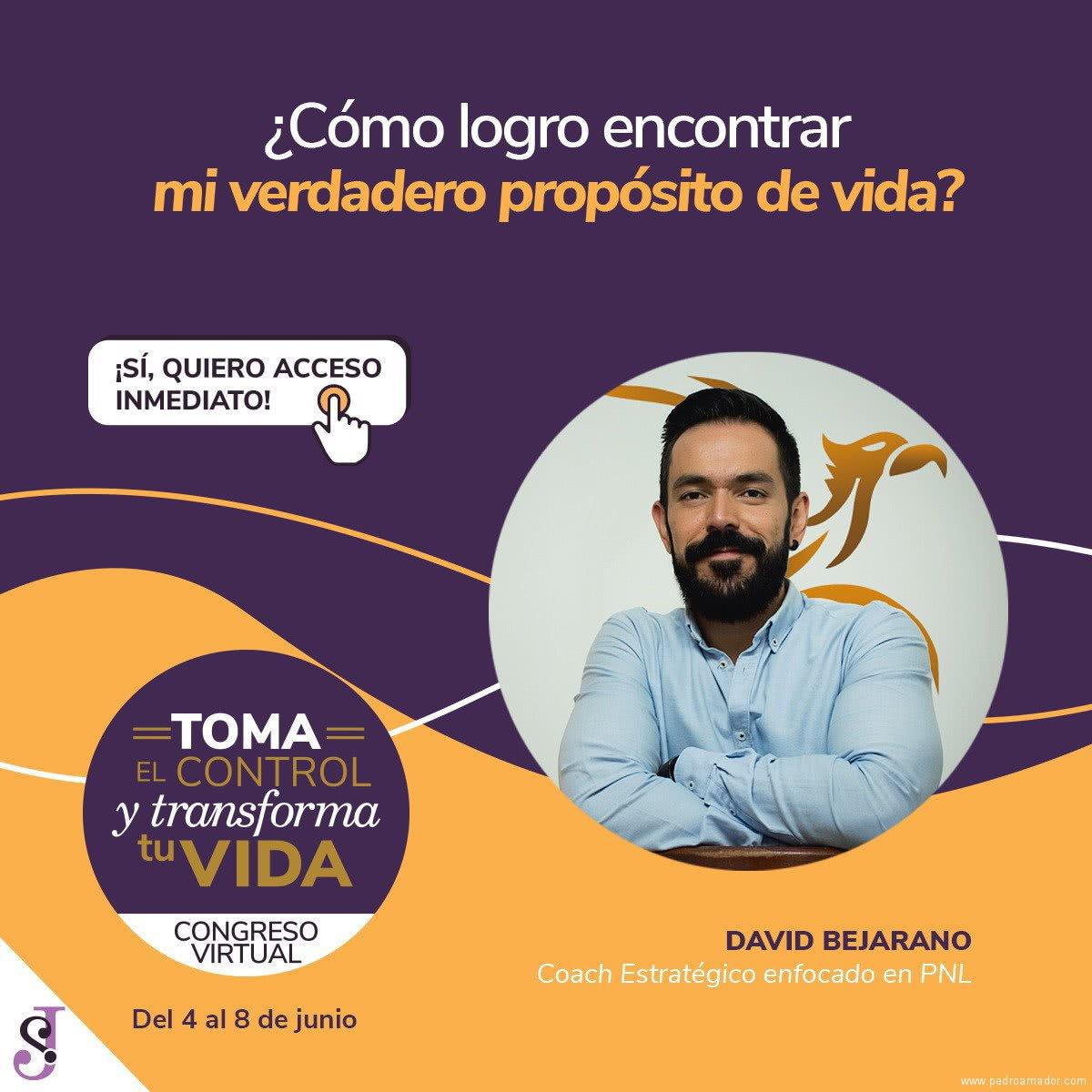 Transforma tu vida - David Bejarano