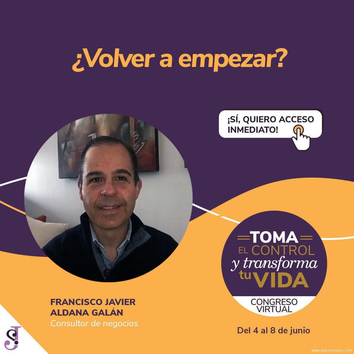 Transforma tu vida - Francisco Javier Aldana Galán