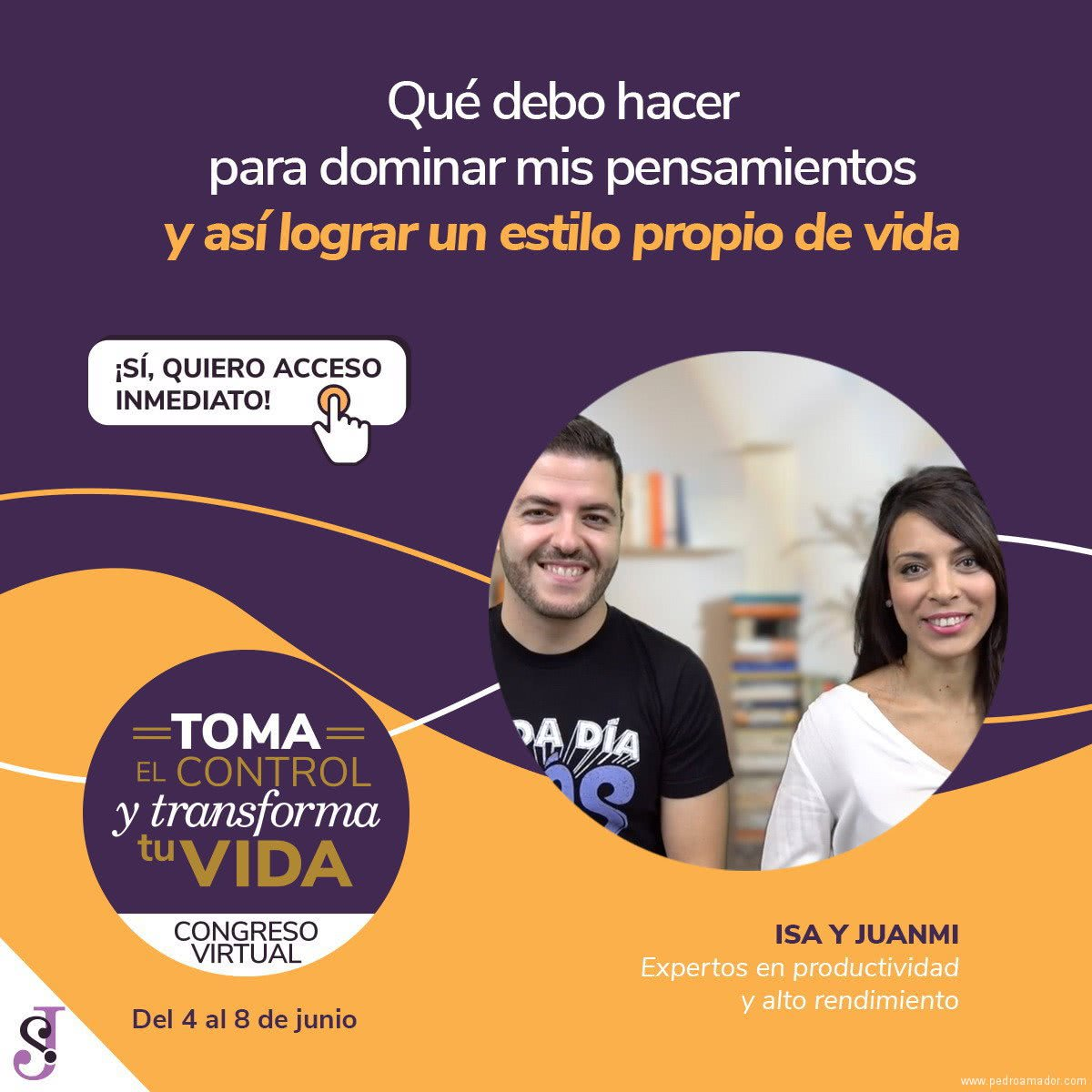 Transforma tu vida - Isa y Juanmi