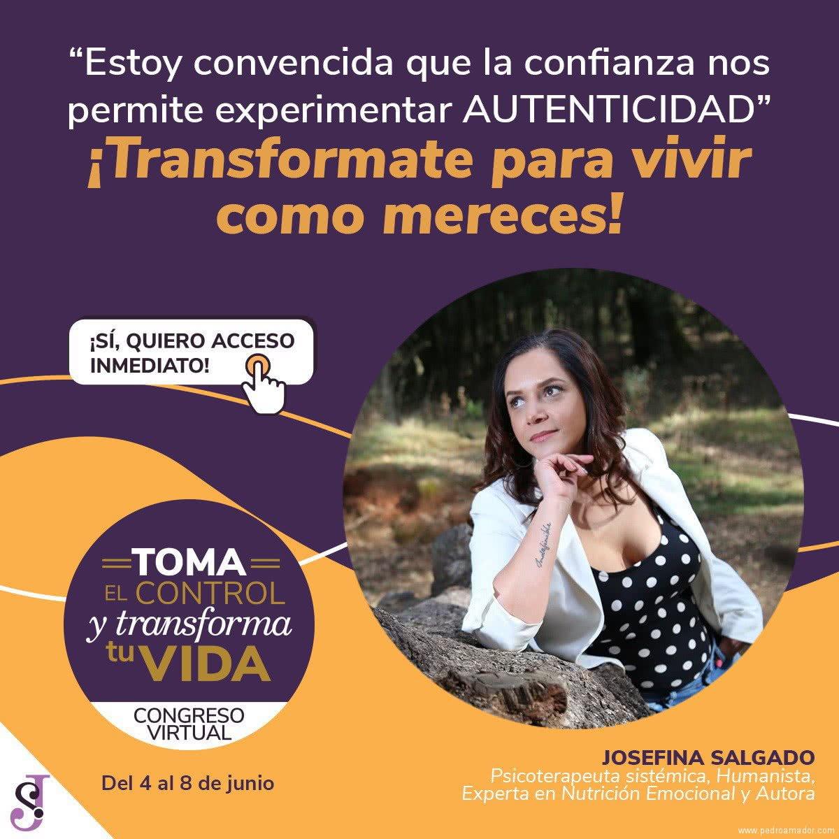 Transforma tu vida - Josefina Salgado