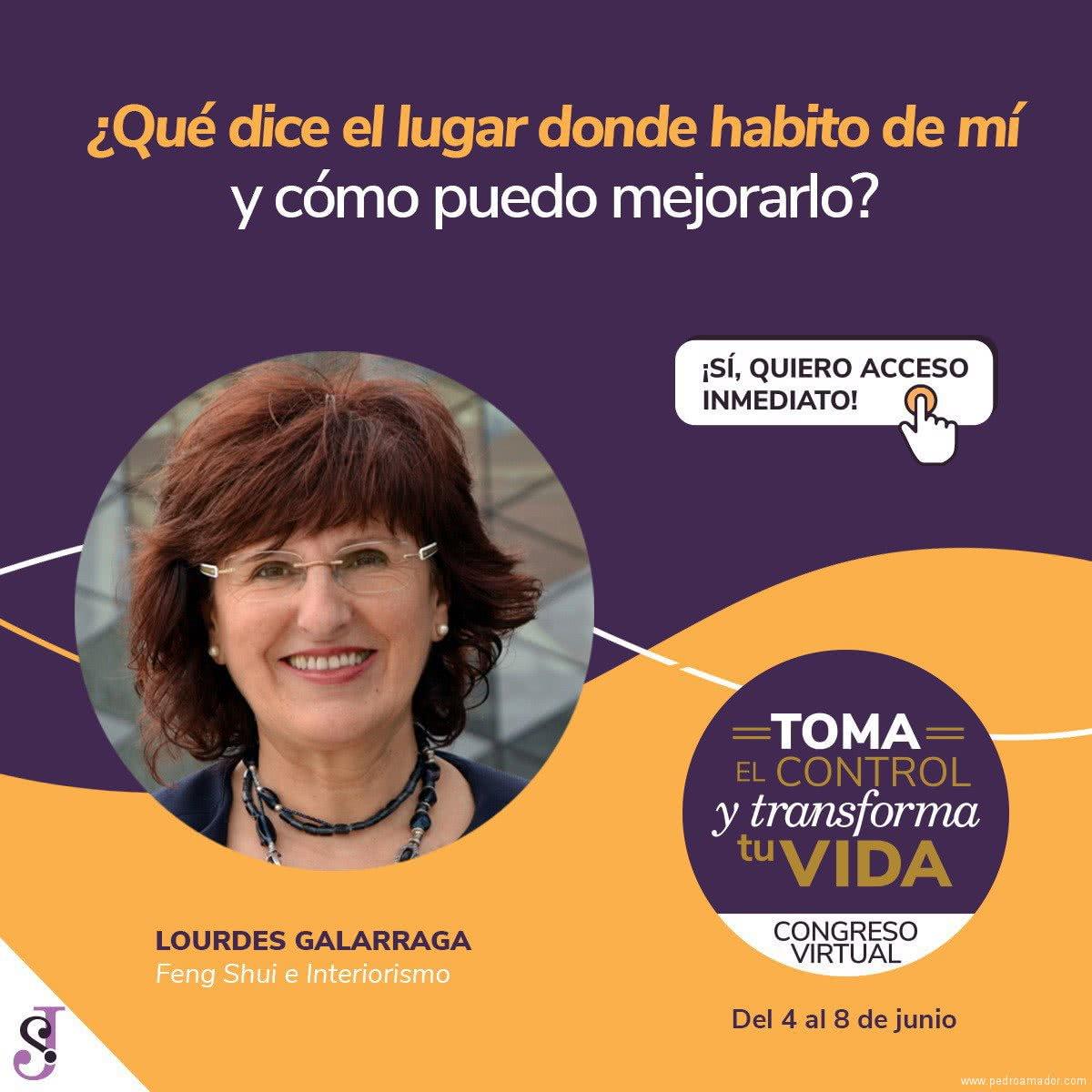 Transforma tu vida - Lourdes Galarraga