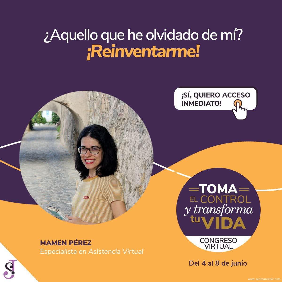 Transforma tu vida - Mamén Pérez