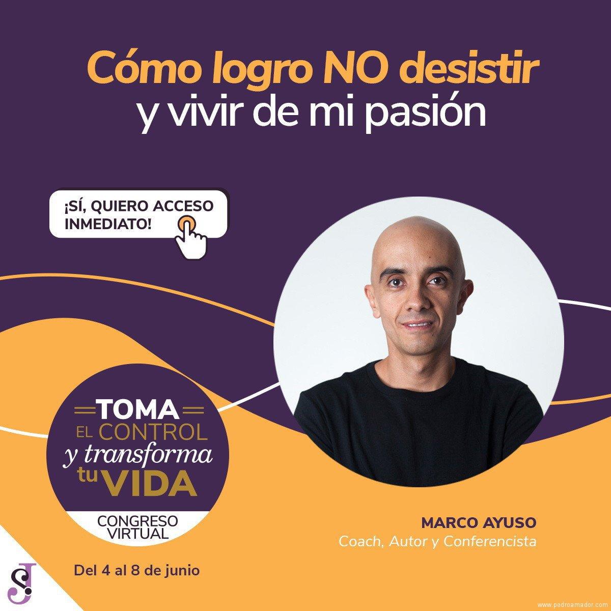 Transforma tu vida - Marco Ayuso