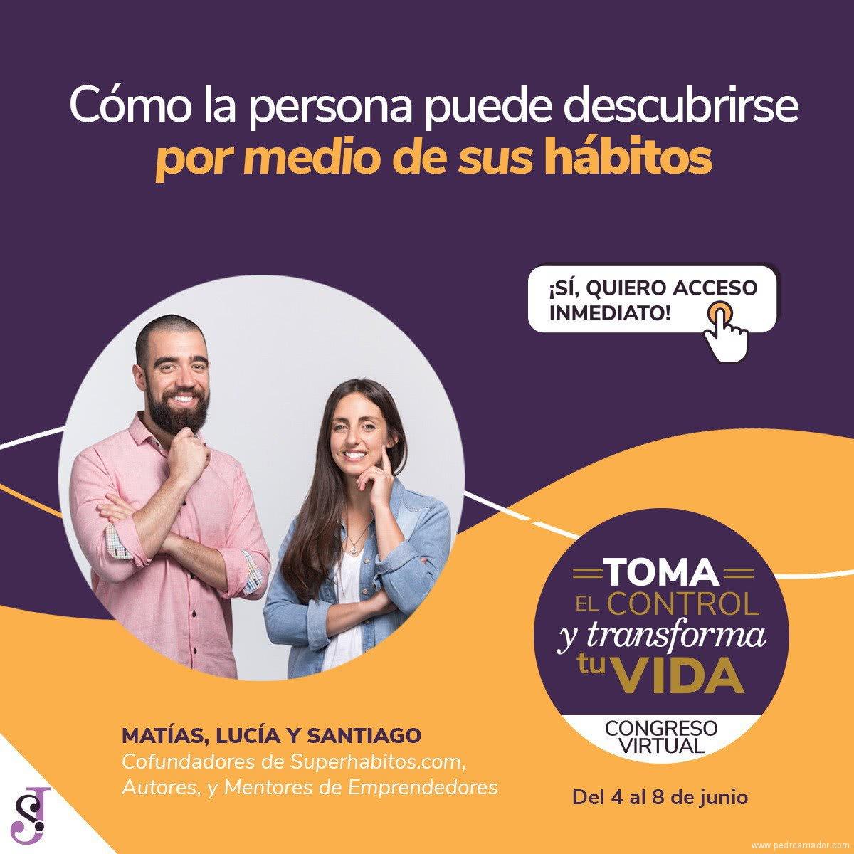 Transforma tu vida - Matías Lucía y Santiago