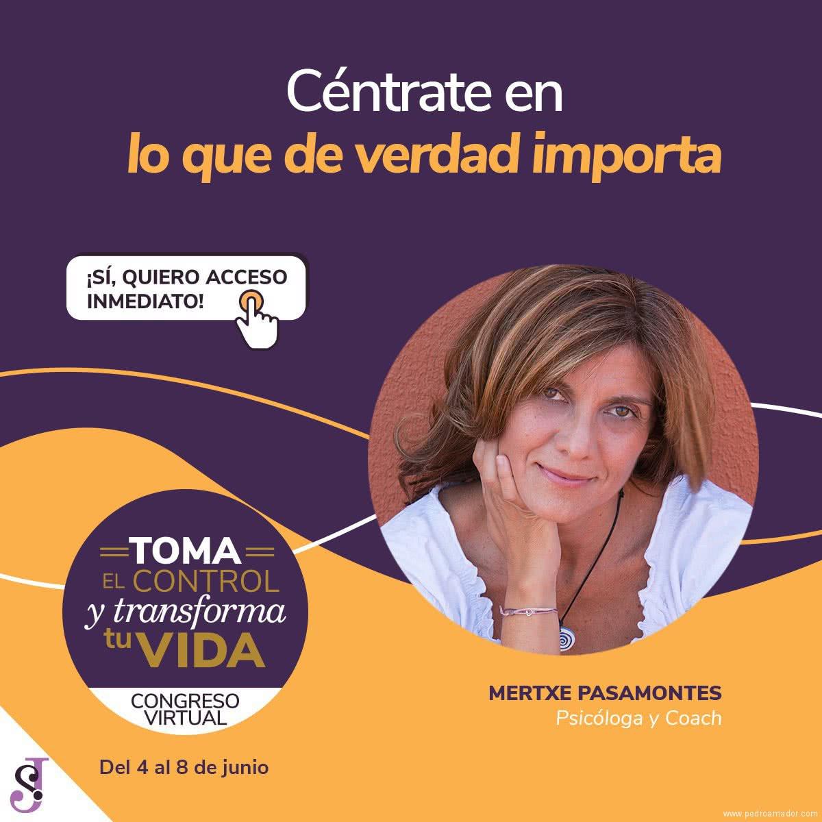 Transforma tu vida - Mertxe Pasamontes