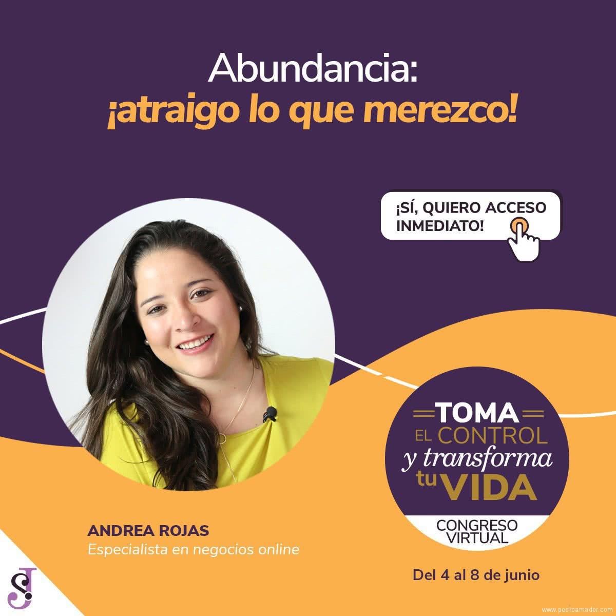 Transforma tu vida - Andrea Rojas