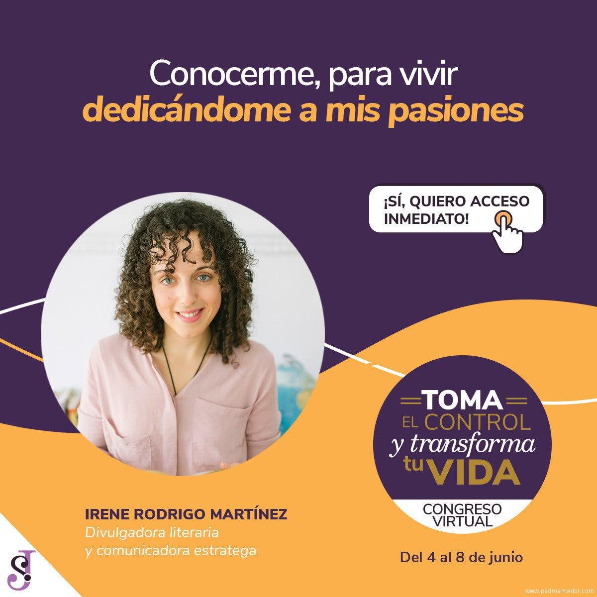 Transforma tu vida - Irene Rodrigo Martínez