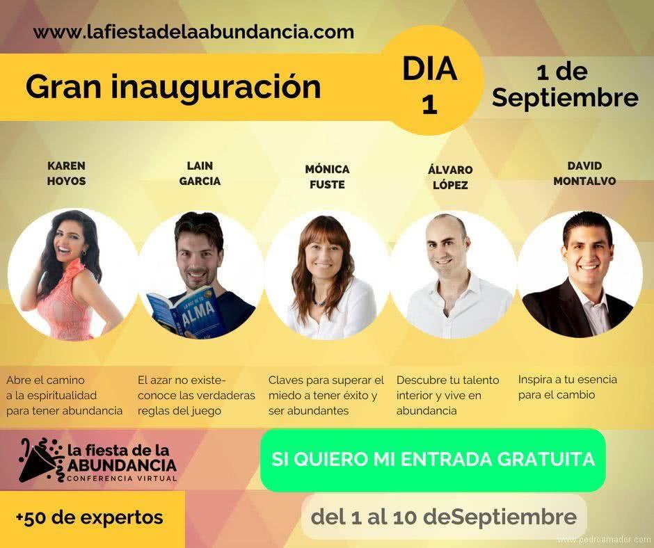 Fiesta de la Abundancia - Karen Hoyos - Lain Garcia - Monica Fuste- Alvaro Lopez - David Montalvo
